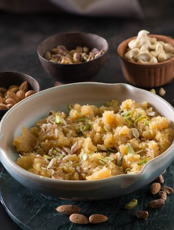 Indian Moong Dal Halwa recipe