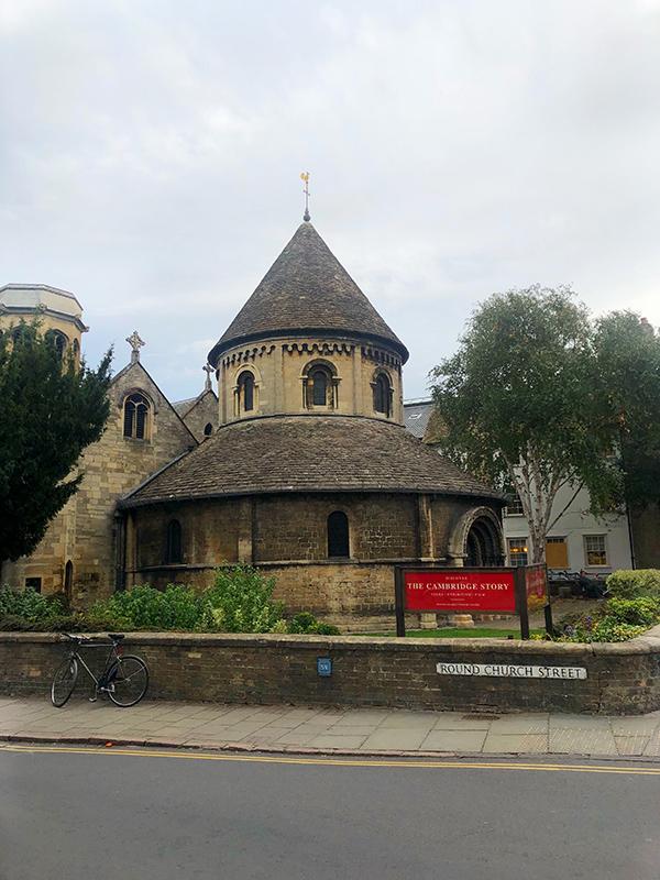 Round Church Cambridge England