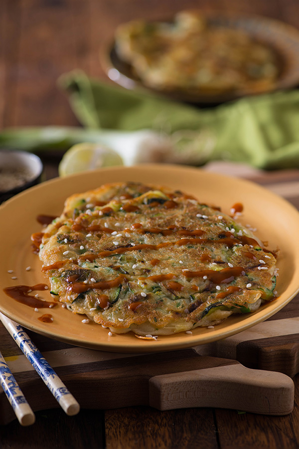 Korean Pancake yachaejeon