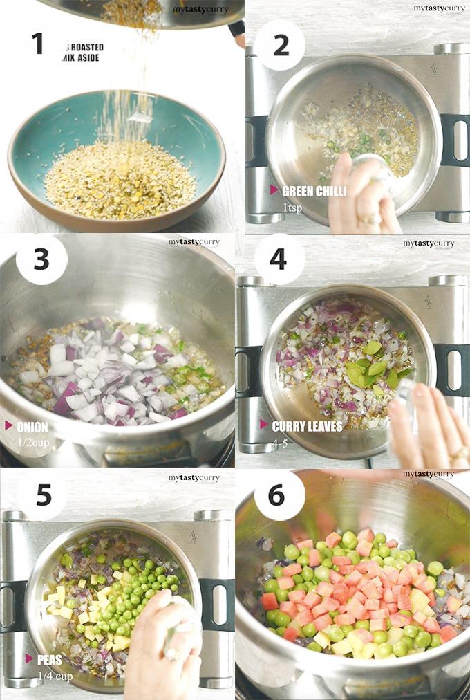 Pressure cooking bulgur pulao recipe step by step photos