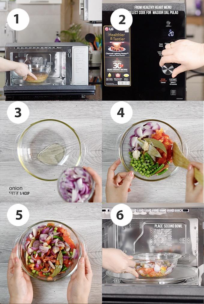 brown rice pulao recipe step-2