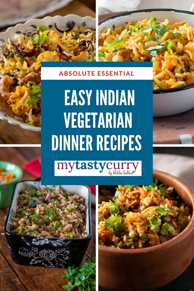 Lockdown Recipes One Pot Vegetarian Indian Dinner Recipes My Tasty Curry