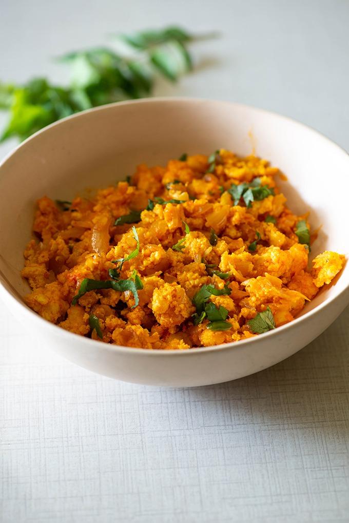 paneer bhurji easy recipe