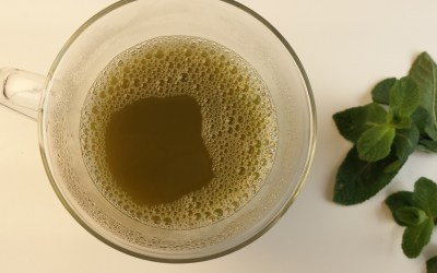 Featured tea: Peppermint Matcha Pick-me-up