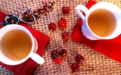 Featured Tea: Cherries & Hearts