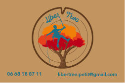 Recto de la carte de visite Liber'Tree