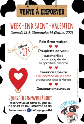 Flyers Saint-Valentin 2021