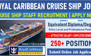 - Cruise Ship Job In USA Canada 2021 – Apply Now