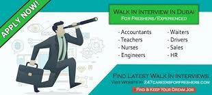 - Walk In Interview - Front Desk Officer