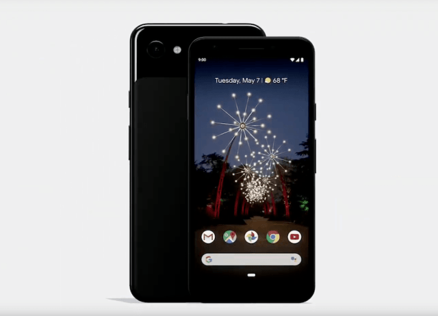 Pixel 3a and Pixel 3a XL launched
