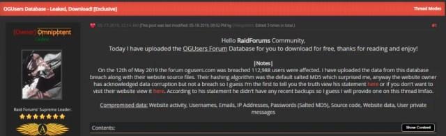 raidforum hacked ogusers