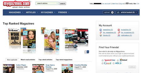Read Your Favourite Magazines Online for Free with Mygazines