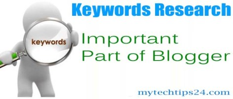 Keywords Research is the Important Part of Blogger 2020