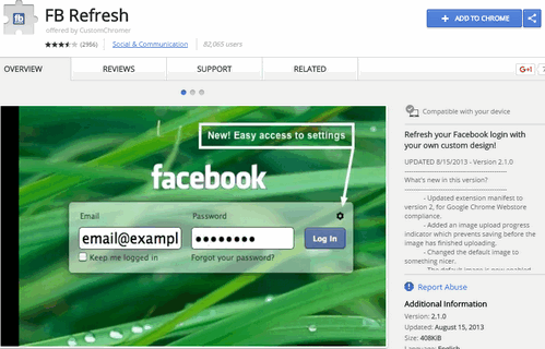 How to Change Facebook Homepage Login Screen