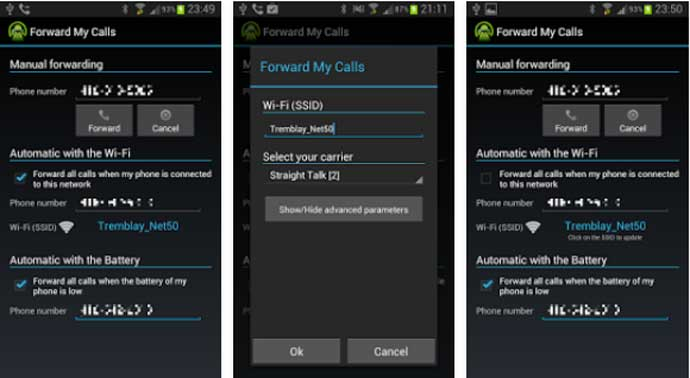 Call Forwarding Apps for Android Device