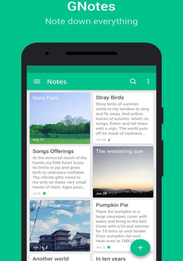 Best Free Notepad for Android 2019