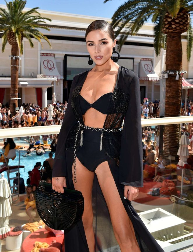 Olivia Culpo – Sports Illustrated Swimsuit New Issue Launch in Las Vegas