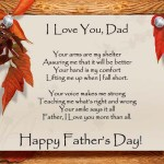 Happy Father's Day Poems 2018, Poetry for Dad's – Poems with Images