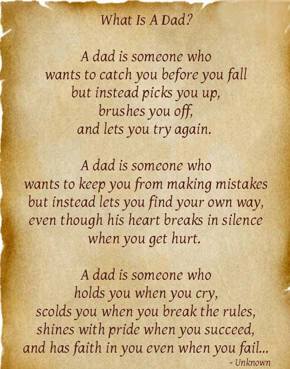 Happy Father's Day Poems Images