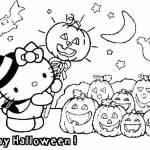 Happy Halloween Coloring Printable Pages - Images