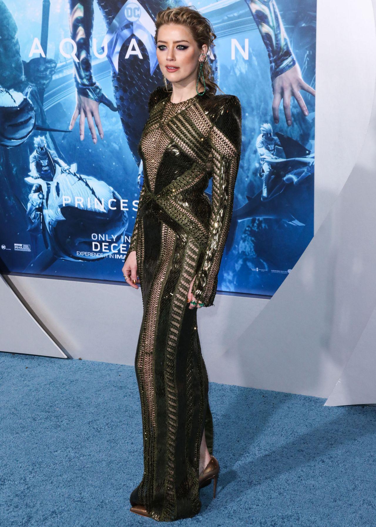 "Amber Heard – ""Aquaman"" Premiere in LA"