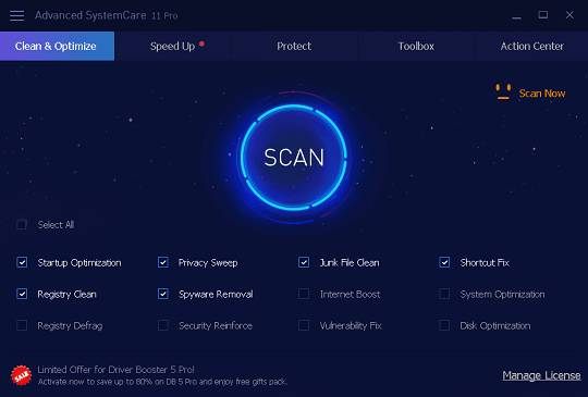 IObit Advanced SystemCare 12 Pro License Code Serial Free Download