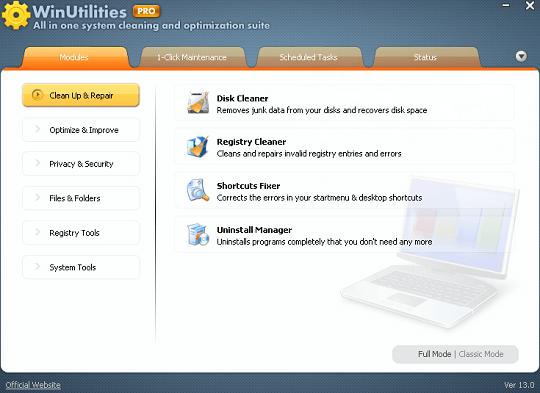 WinUtilities Pro 15 License Code 2019 Serial Free Download