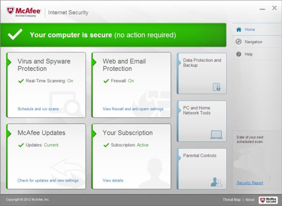 Mcafee Internet Security 2019 License Product Key Free Full Version