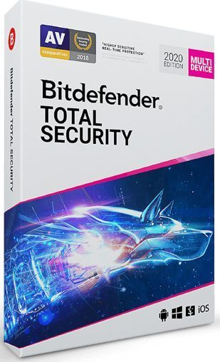 Bitdefender Antivirus Free Trial 90 Days (Total Security 2020)