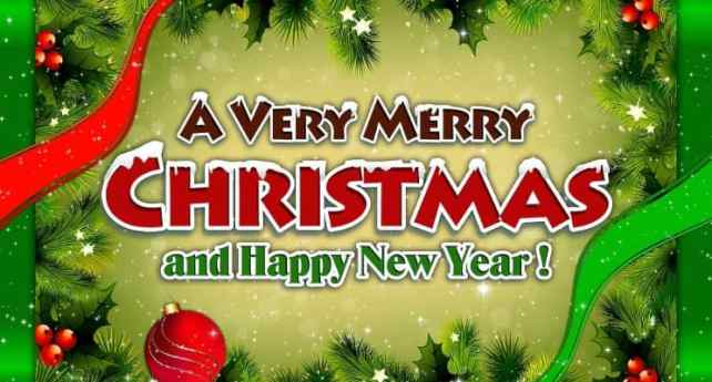 Merry Christmas And Happy New Year 2020 Wishes Images Pictures HD