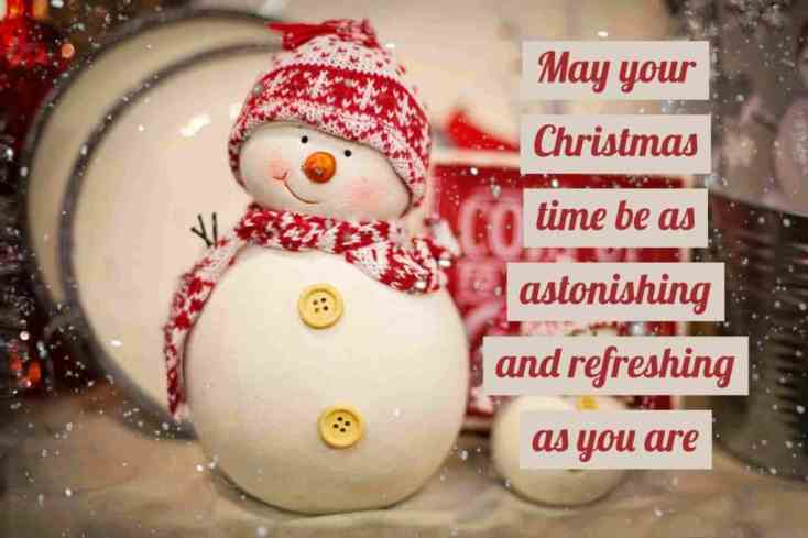 Good Morning Wishes Pictures Wallpapers for Merry Christmas