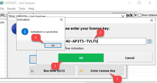 Vovsoft Link Analyzer License Key for Free Lifetime Giveaway