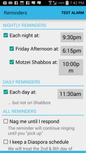 So smart about reminders