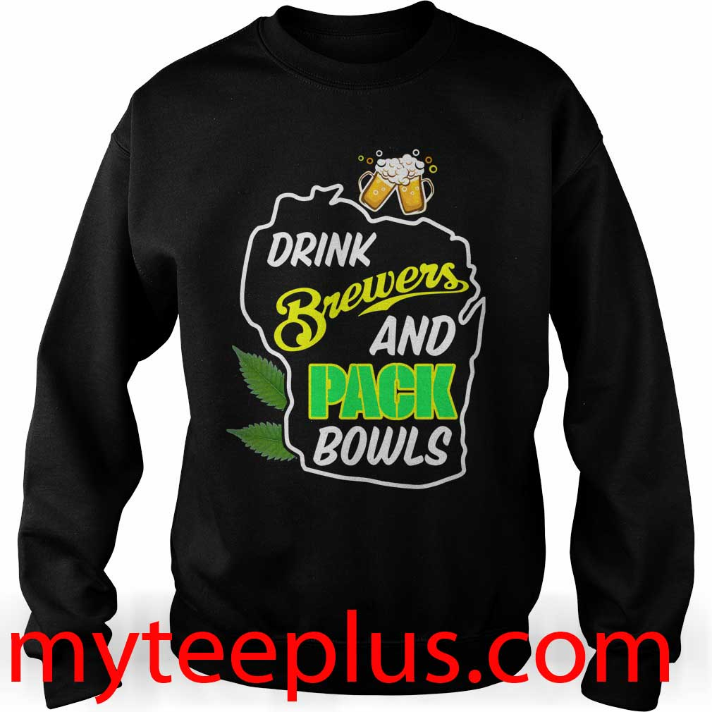 Drink brewers and pack bowls Sweater