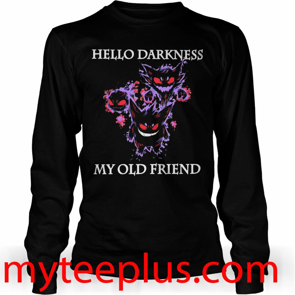 Haunter hello darkness my old friend Long sleeve