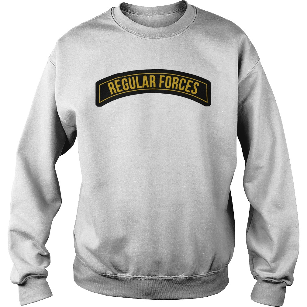 Regular forces sweater