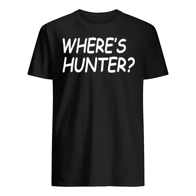 OFFICIAL TRUMP WHERE'S HUNTER SHIRT