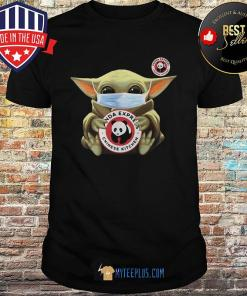 Baby Yoda Hug Panda Express Chinese Kitchen Covid-19 shirt