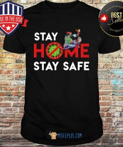 Cartoon Network Character Stay Home Stay Safe Coronavirus shirt