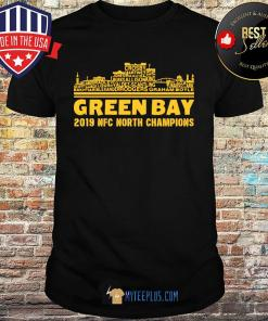 Green Bay 2019 NFC North Champions shirt