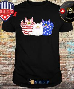 Official Cats American Flag shirt