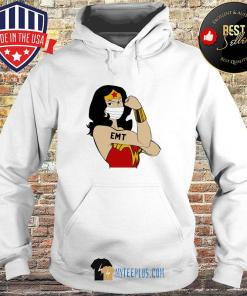 Wonder Woman Tattoos EMT Covid-19 s Hoodie