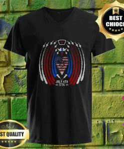 4th Of July 1776 Independence Day v neck