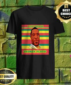 Official I can't breathe George Floyd shirt