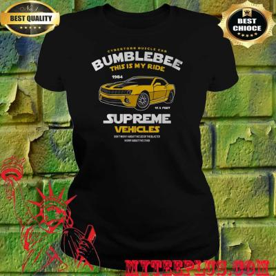 Bumblebee This Is My Ride Womens Transformers women's T-Shirt