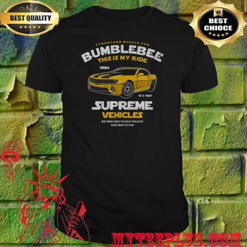 Bumblebee This Is My Ride Womens Transformers T-Shirt
