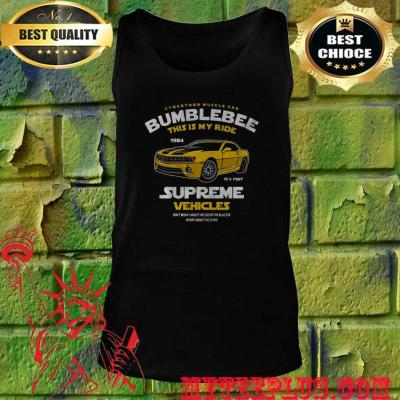 Bumblebee This Is My Ride Womens Transformers Tank top