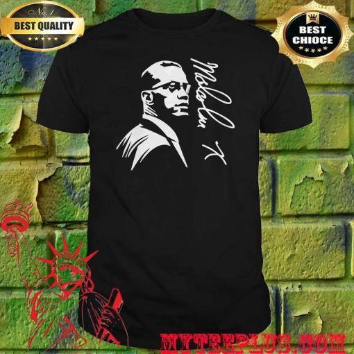 Official Malcolm X Signature shirt