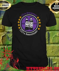 19th Amendment XIX Suffragette 100 years Anniversary Feminist T-shirt