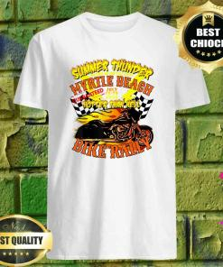 2020 Summer Thunder Hotter Than Hell Myrtle Beach Bike Rally T-Shirt